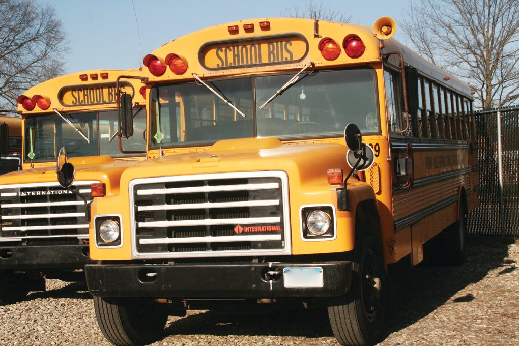 Baldwin students who have had to walk or carpool to school could be eligible for busing if voters approve a proposition on this month's school district budget ballot.