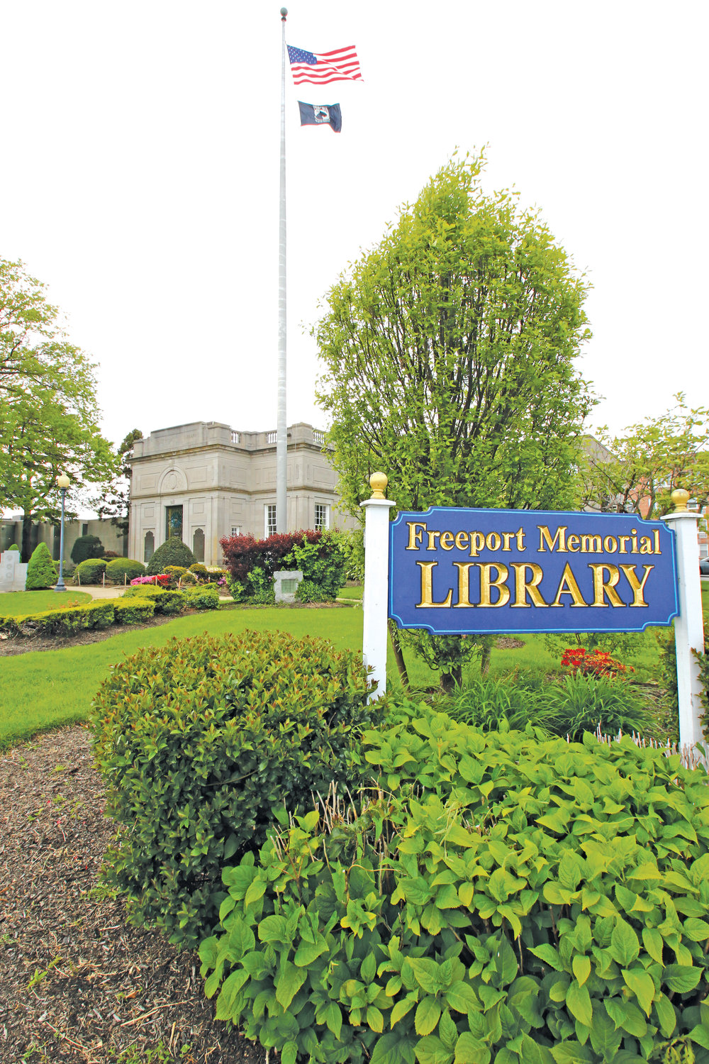 The Freeport Memorial Library offers a wide-range selection of books and hosts several events daily.