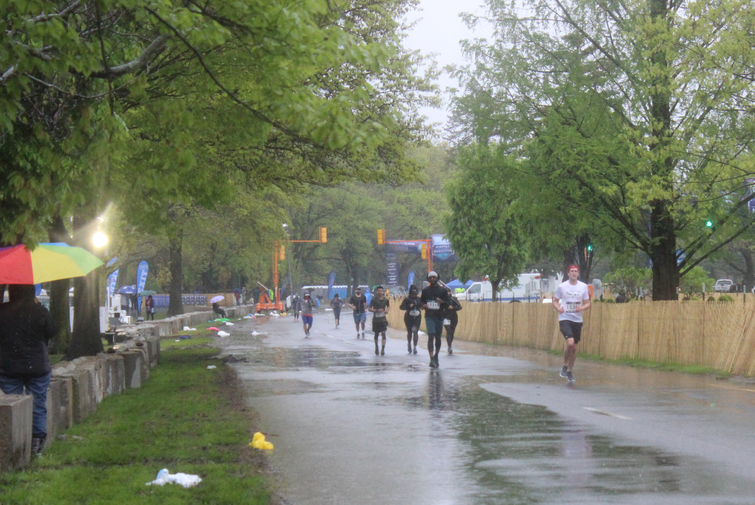 The NEFCU 2019 Long Island Marathon kicked off at Eisenhower Park on May 5 and, despite rain and wind, thousands of runners made their way through Nassau County's streets during the course of the race.
