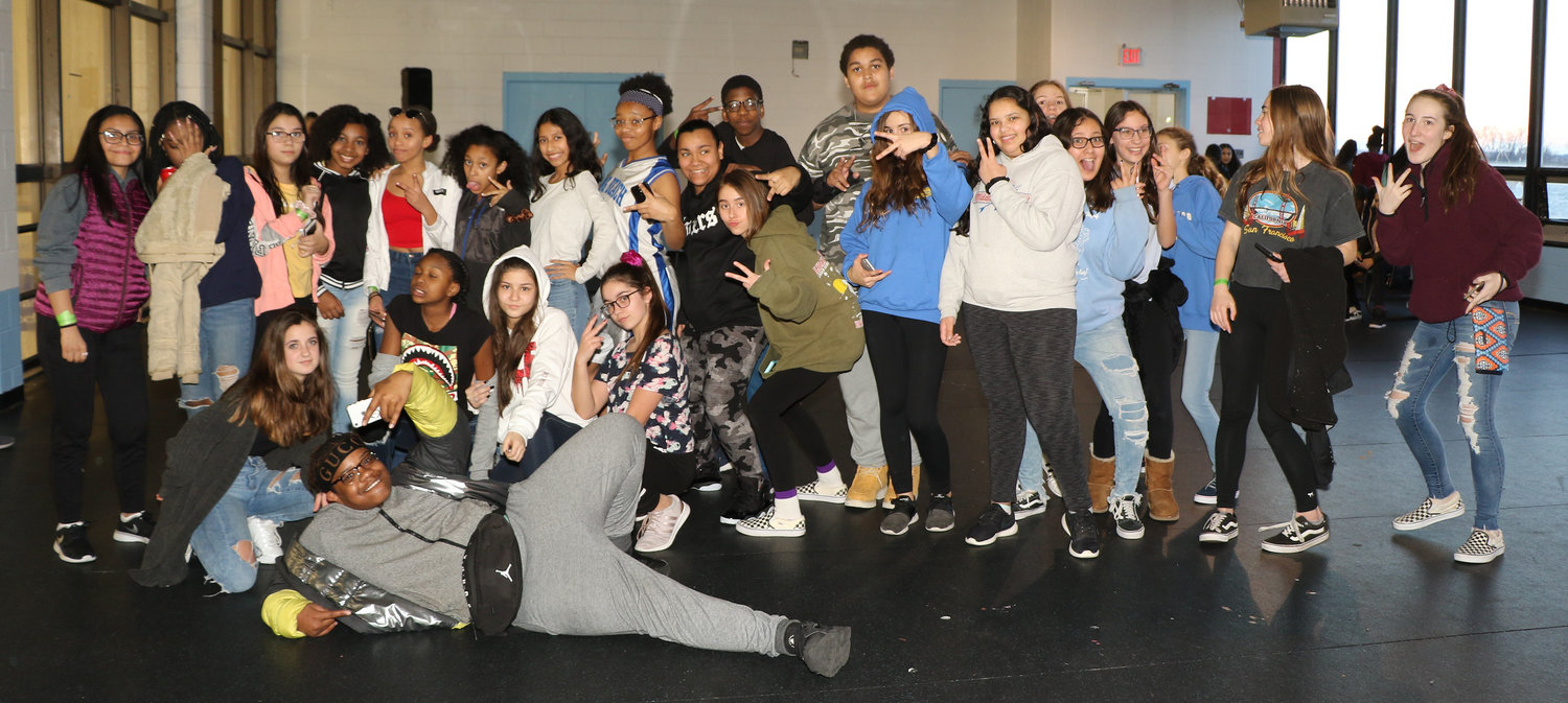 More than 200 students attended Tween Nite Out at the Long Beach Ice Arena on March 22.
