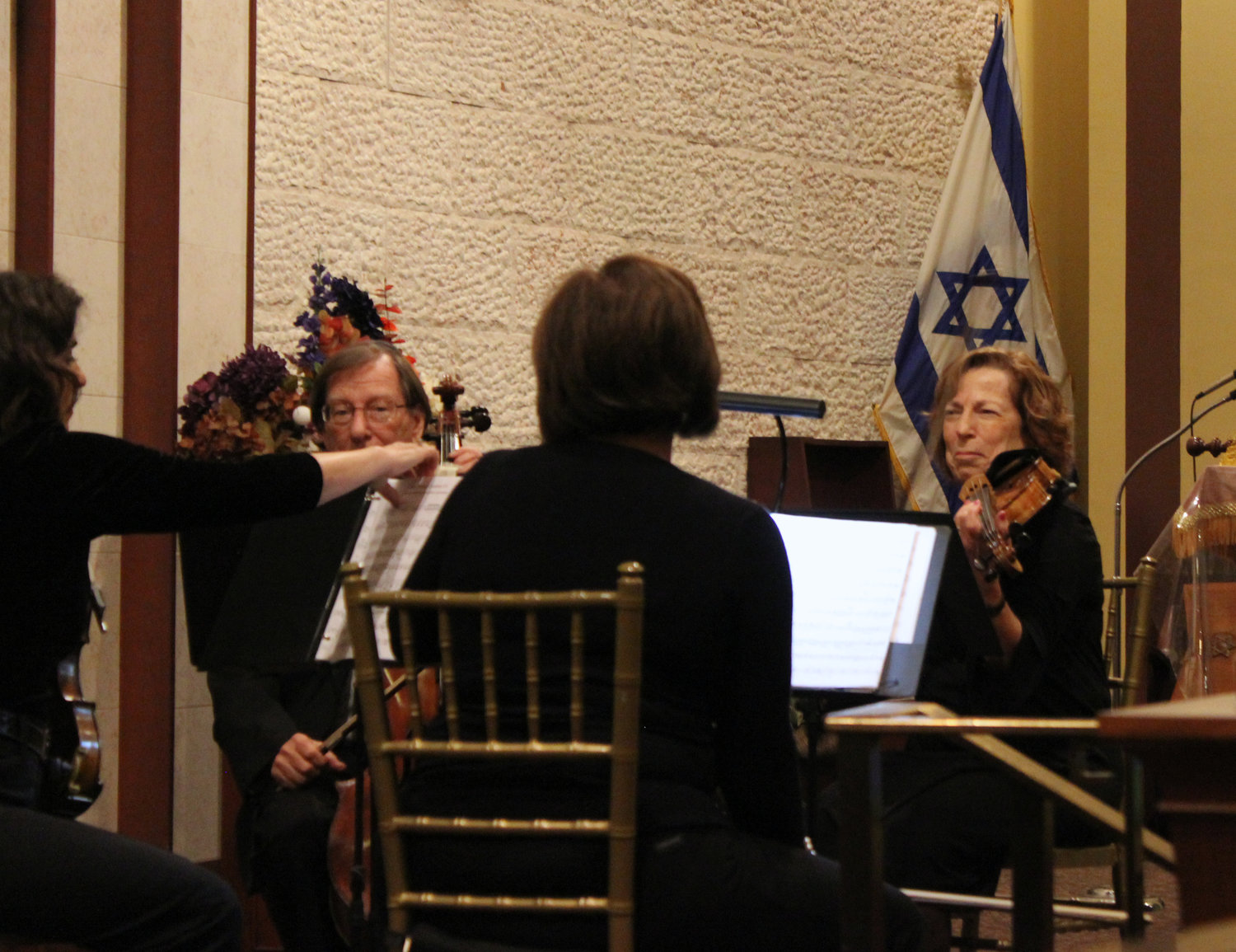 For the third year, musicians played instruments that were salvaged and restored from the Holocaust.
