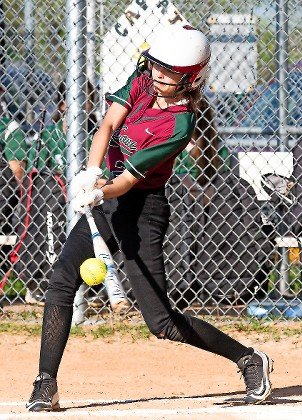 Senior Emily Villar was perfect at the plate in Glen Cove's 14-4 victory at Valley Stream North on May 8, going 5-for-5 with three runs scored and two RBIs.