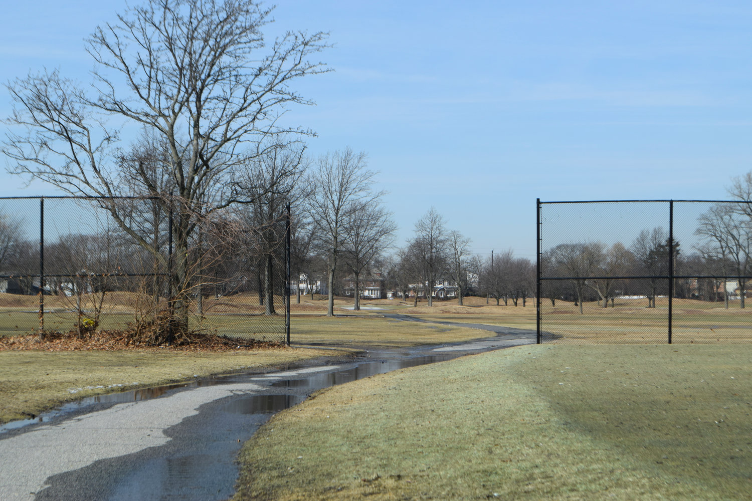 While moratoriums have not impeded development plans for the Woodmere Club, the Town of Hempstead is considering creating either a town park or a park district.