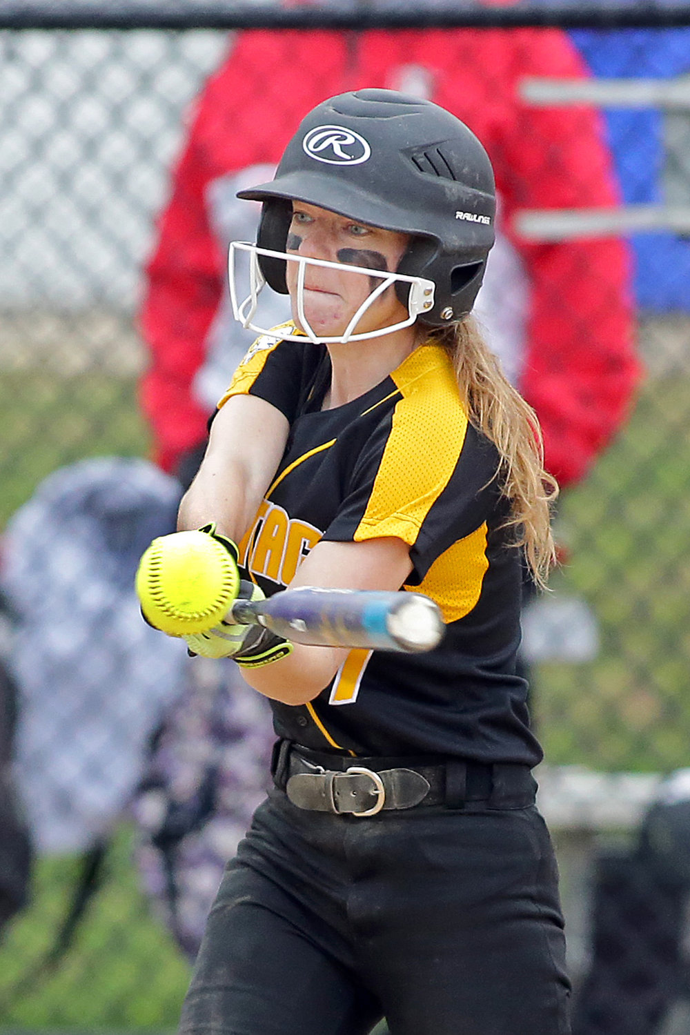 Senior leadoff batter Kayley Butcher tripled and scored in a seven-run fourth inning to help Wantagh beat Mineola, 14-3, on May 2, on the way to a conference title.