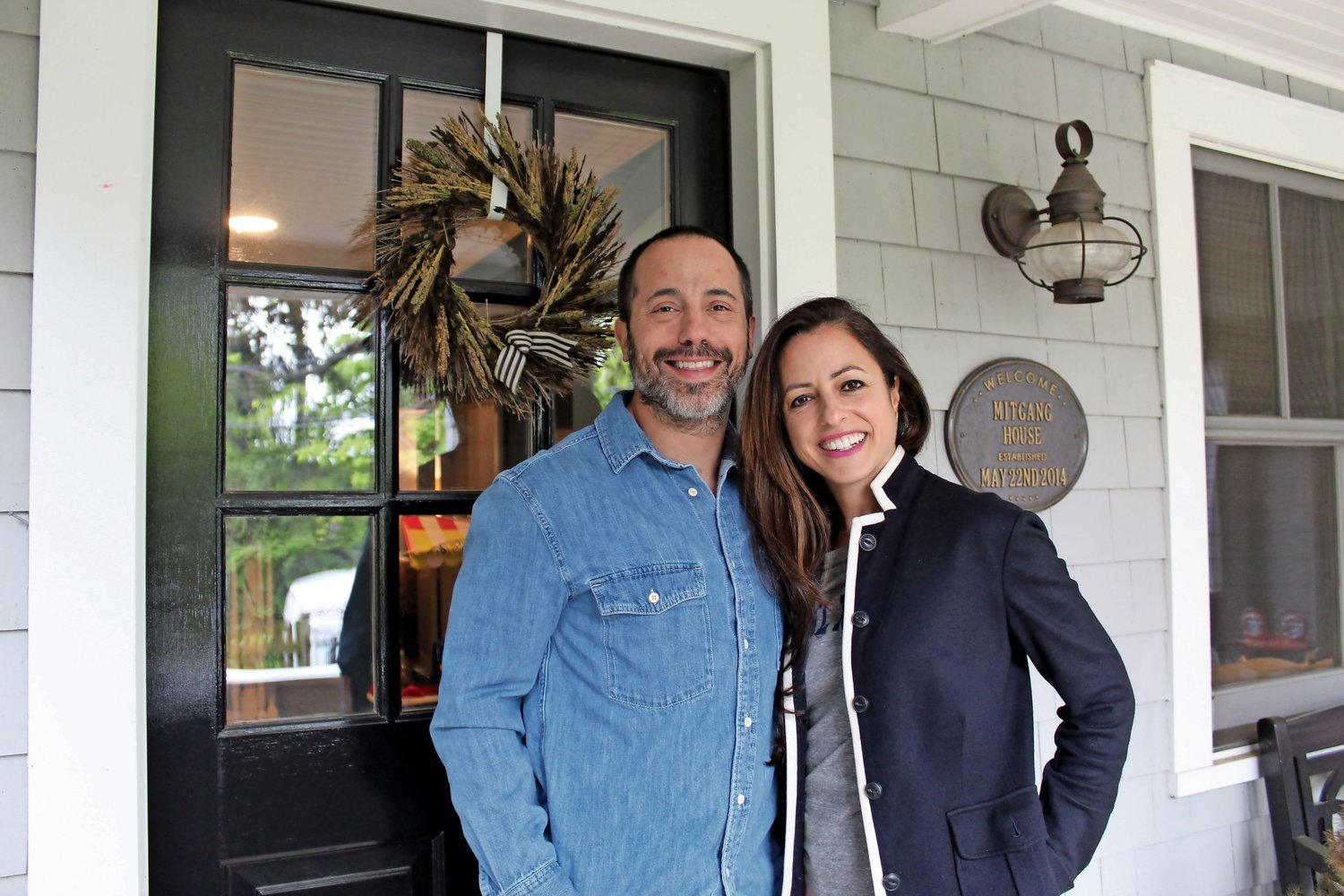 Todd and Colleen Mitgang, who have lived in Sea Cliff for five years, will invite visitors to tour their home this Sunday.