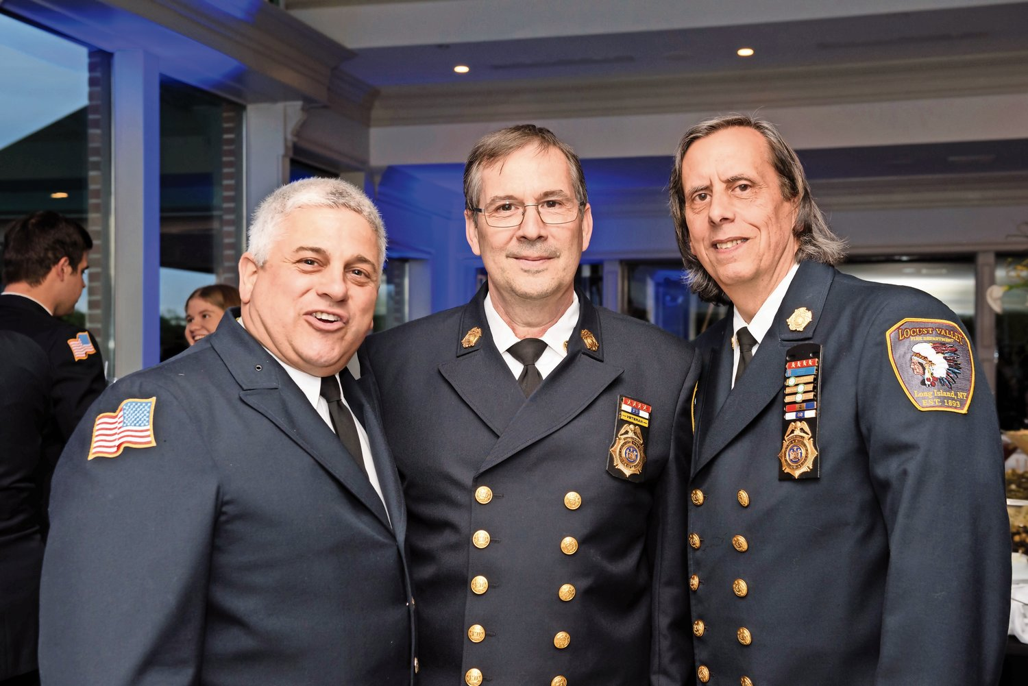 Locust Valley Fire Department installs new officers at