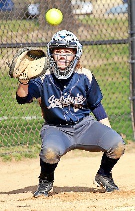 Senior catcher Juliet Bernstein led Baldwin in most offensive catetories this spring, including a .642 batting average, eight homers and 34 RBIs.