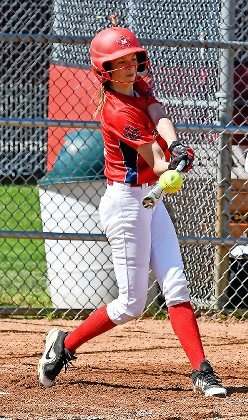 Jordyn Roth capped MacArthur's big six-run first inning in last Saturday's Class A quarterfinal playoff victory over Kennedy with an RBI double.