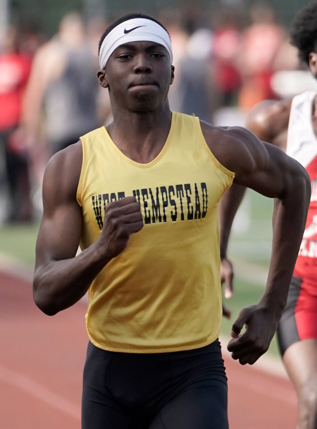 Sophomore Jaden Mason stood out for the Rams throughout the regular season as well as in last week's Division 4A championship meet.
