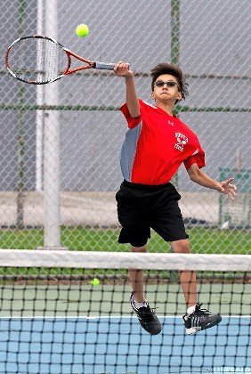 Brandon Yeh formed an outstanding top doubles combination with Richard Chau to help Valley Stream South compile an 11-3 conference record.