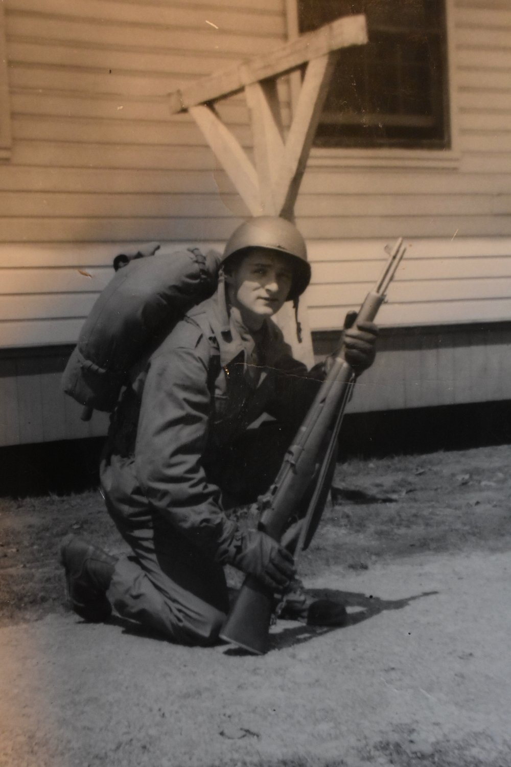 Fallon, who has lived in Rockville Centre for 50 years, did basic training at Fort Leonard Wood in Missouri in 1952.