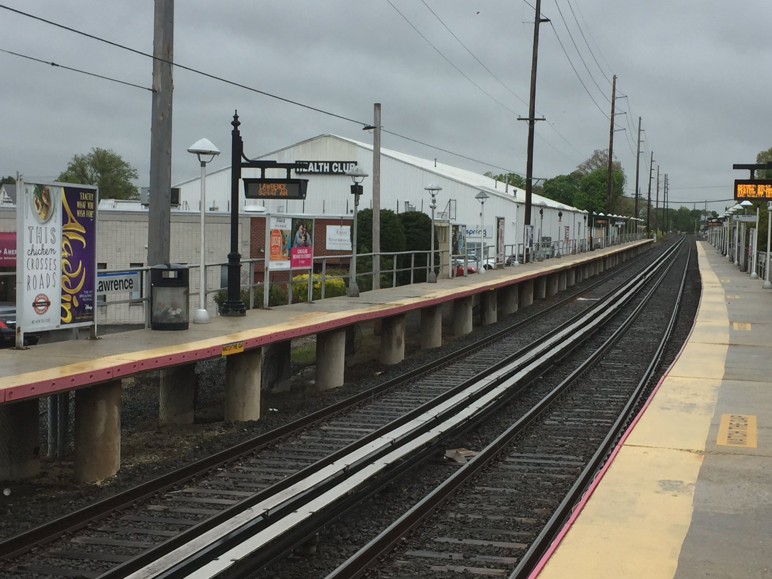 The land surrounding the Lawrence, above, and Inwood LIRR stations are being 'underutilized,' Town of Hempstead Councilman Bruce Blakeman said.
