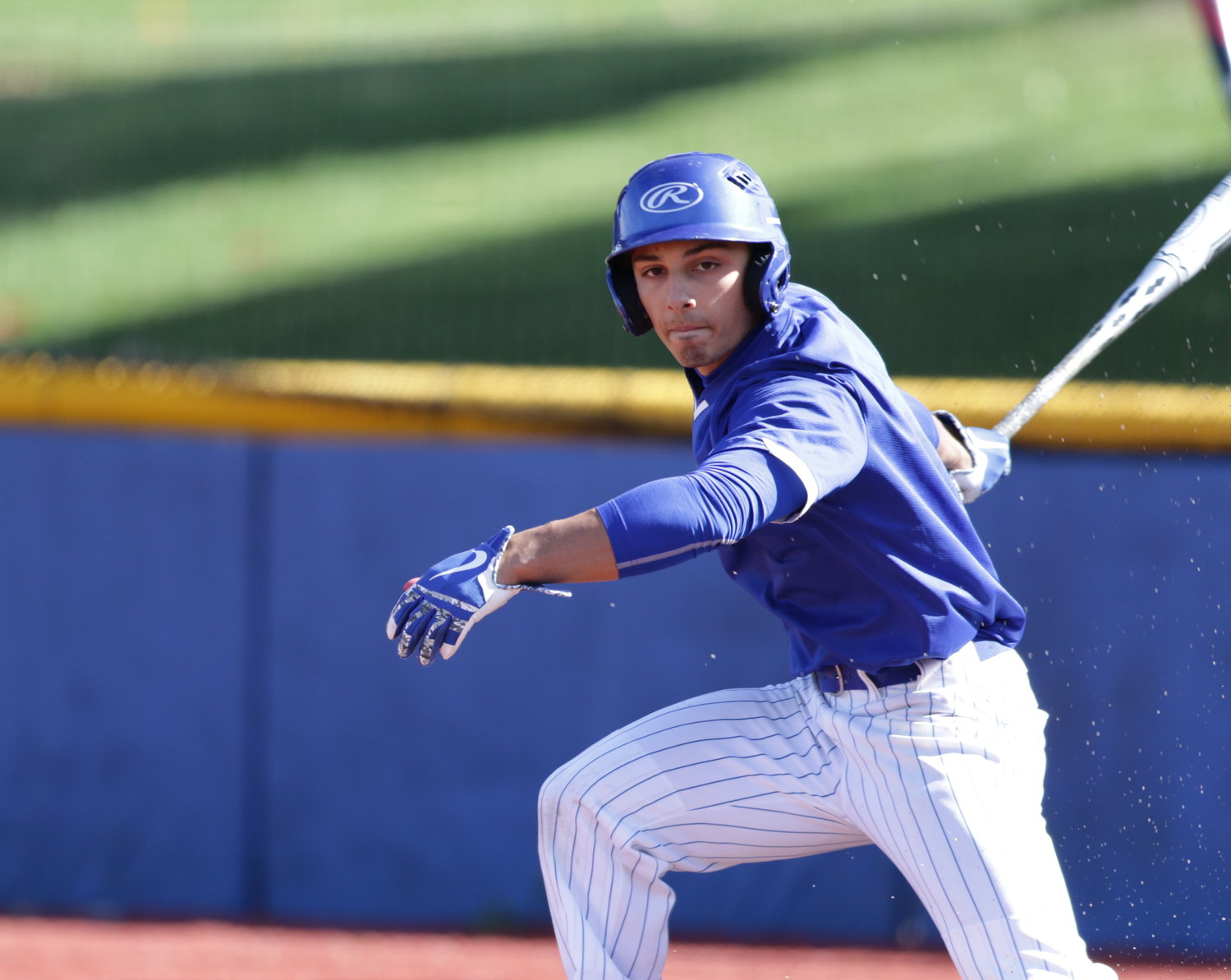 EJ Cumbo was at NYIT baseball's fall game against LIU Post at Angelo Lorenzo Memorial Field on Oct. 19.