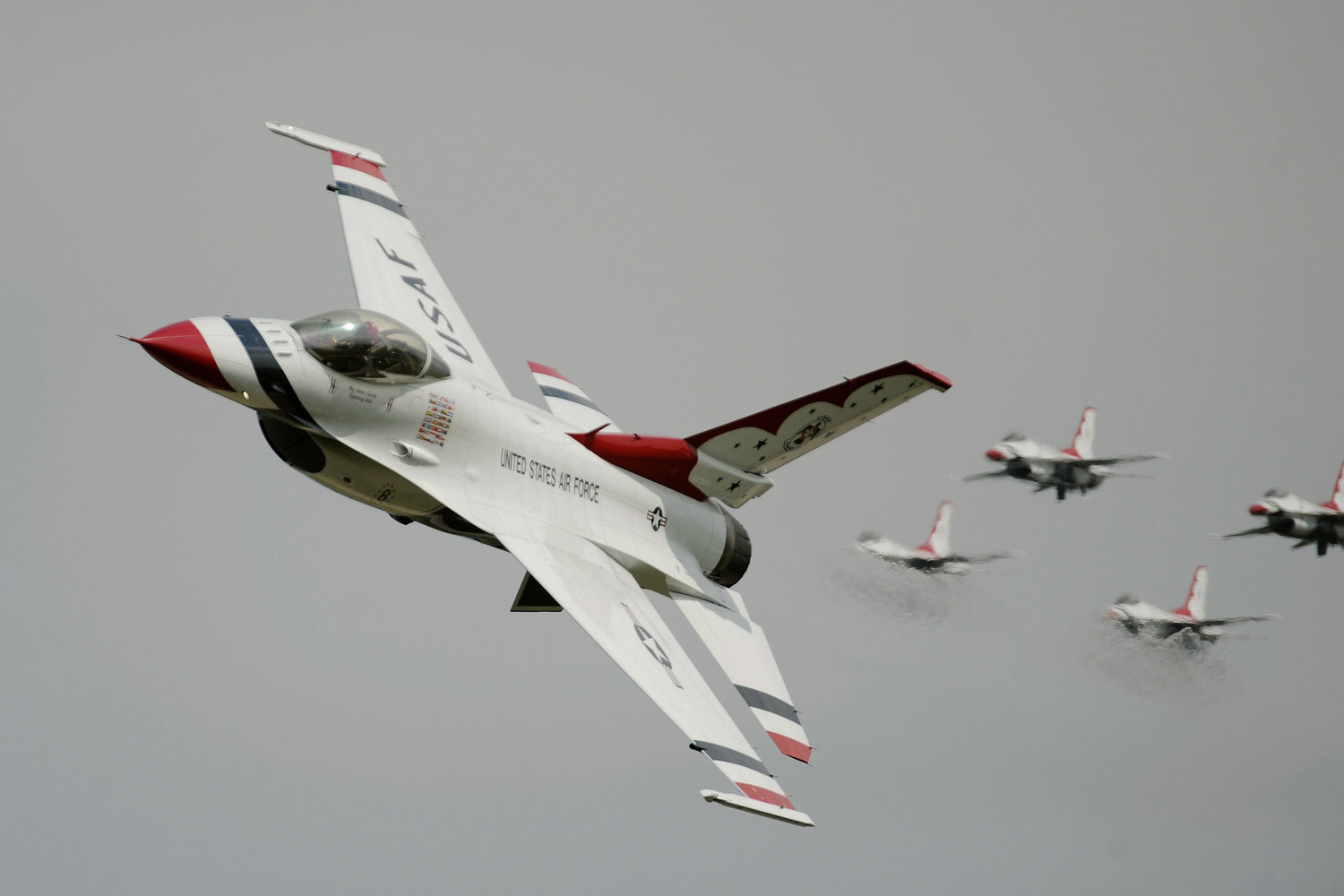 The renowned U.S. Air Force Thunderbirds are back in action over Jones Beach this weekend.