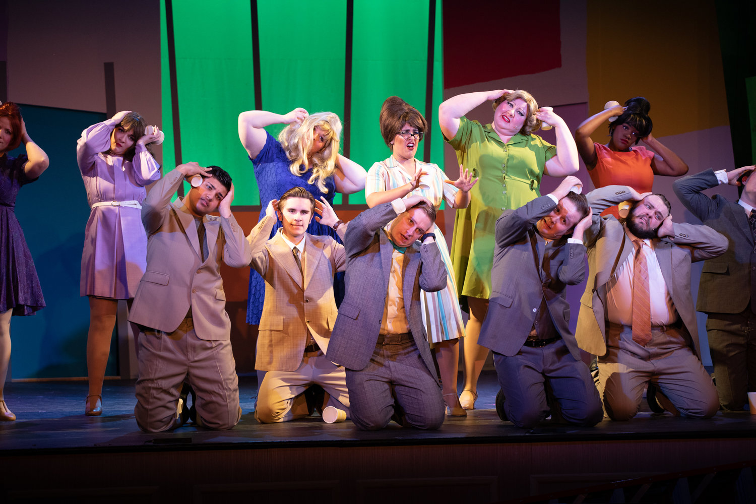 "It's an exhilarating climb up the corporate ladder when the BroadHollow Theatre Company stages ""How to Succeed in Business Without Really Trying."""