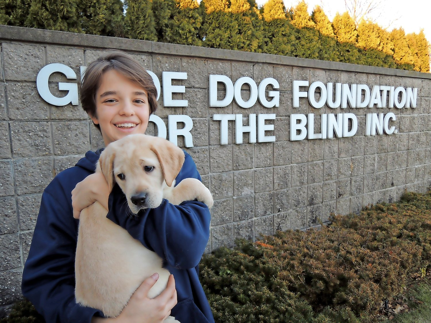 Each year, Oceanside sophomore Jeremy Feder raises thousands of dollars for America's VetDogs, which was originally founded under the Guide Dog Foundation for the Blind, Inc.