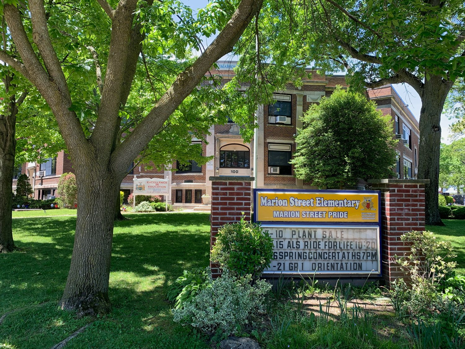 Lynbrook school officials are studying ways to combat overcrowding at Marion Street Elementary School. There are now 448 students enrolled at the school, and it is expected to receive 24 new students next year.