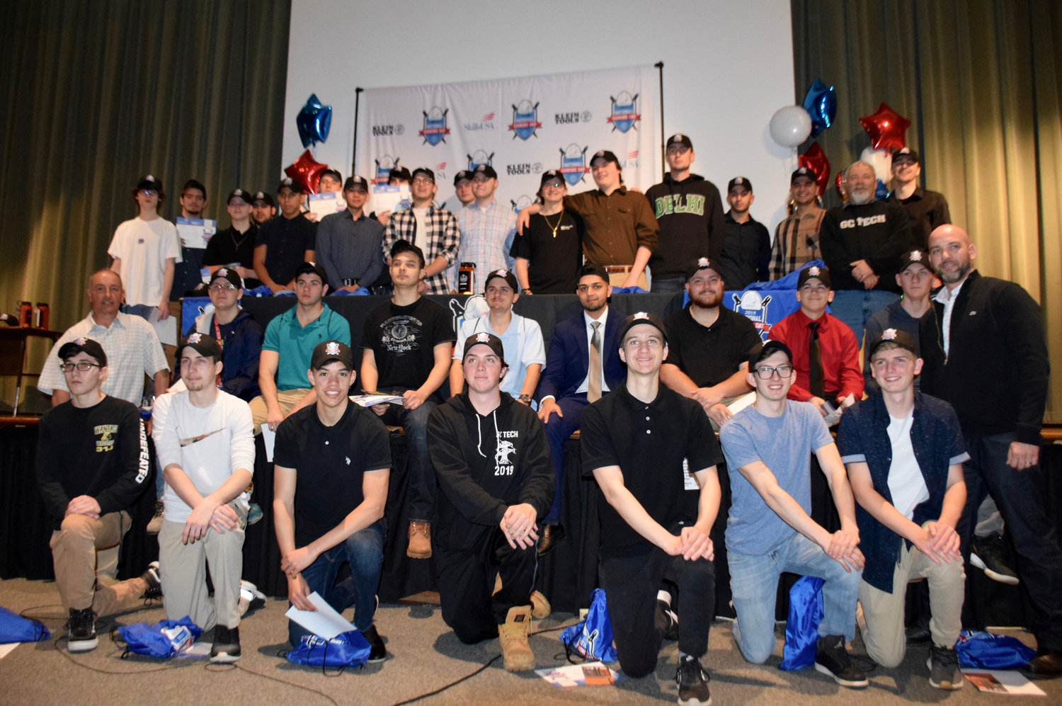More than 25 seniors participated in National Signing Day at G.C. Claps Career & Technical Center on May 8.