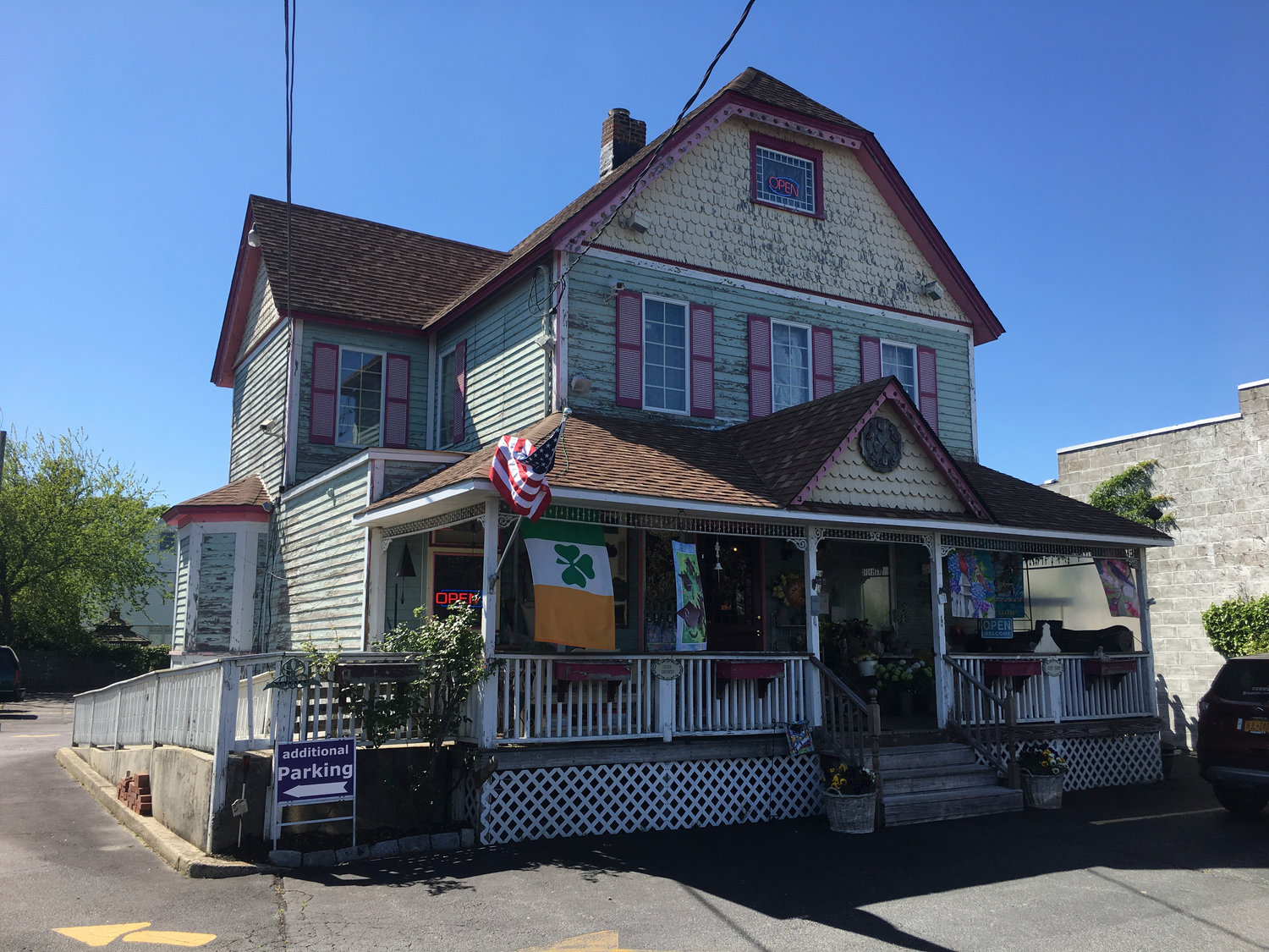 The Olde Towne Garden, a shop on Wantagh Avenue, has been around for 25 years.