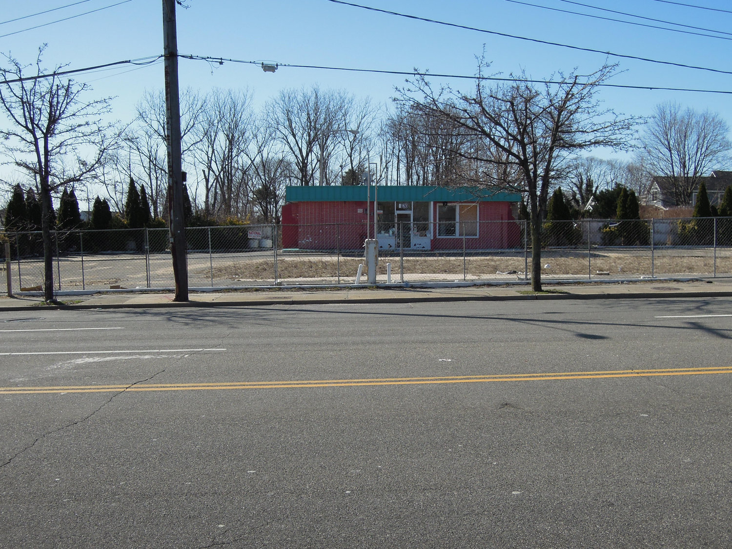 Seaford residents are concerned that this abandoned gas station, at 4030 Merrick Road, may become a Bolla station and convenience store.