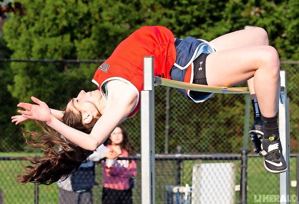 South Side's Olivia Rodriguez captured the high jump title at the Division 3A championships and went on to finish second in Nassau Class AA.
