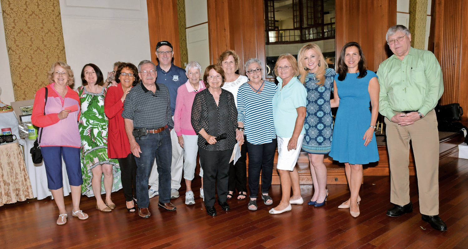 The 13 members of the SAGE Foundation Committee were all thrilled with the success of the golf outing and its subsequent dinner.