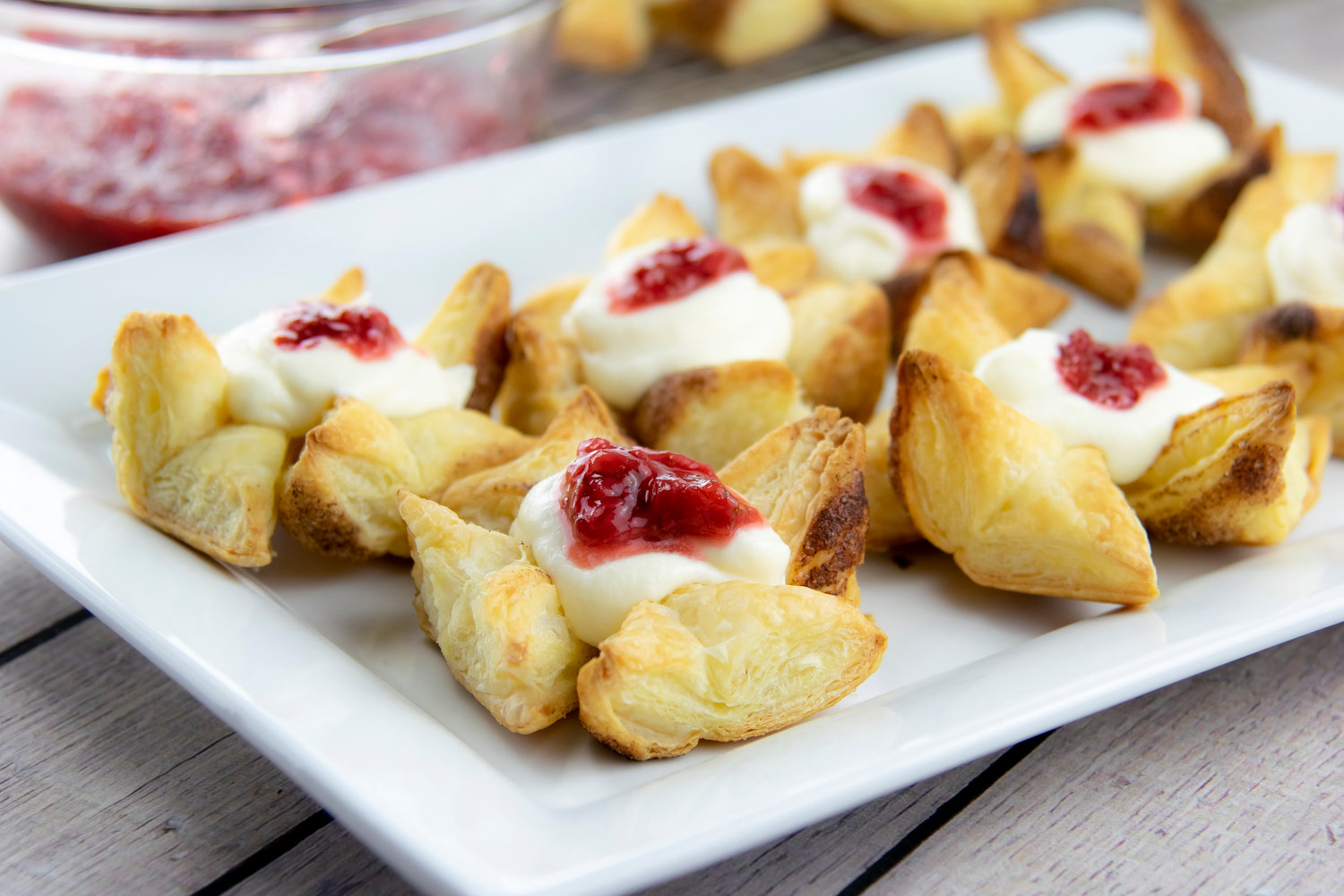 Perfect for a party or simply indulging yourself, these addictive pastry puffs make it hard to stop at one.
