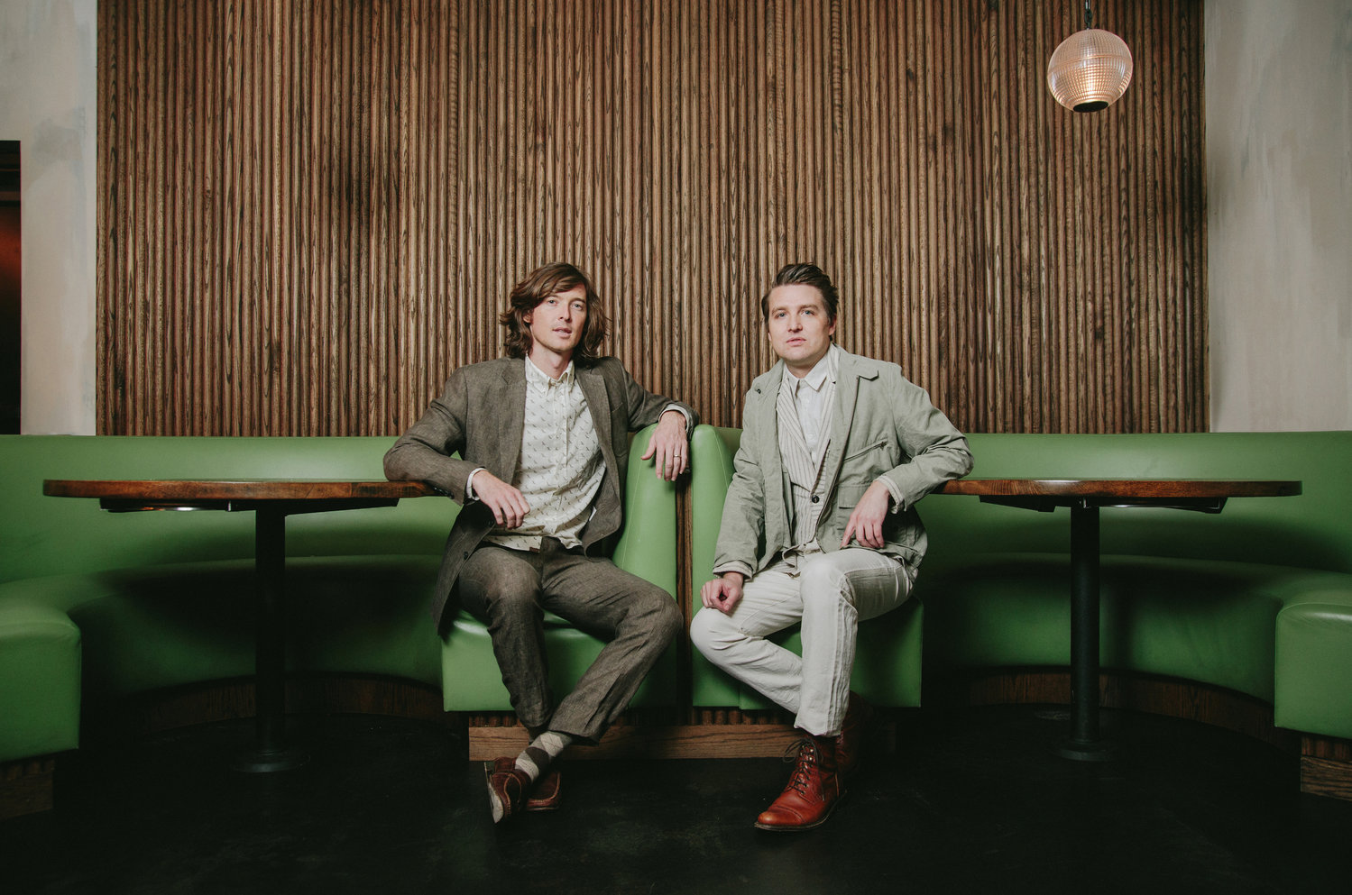 The Milk Carton Kids visit the Landmark on Main Street stage on June 20.