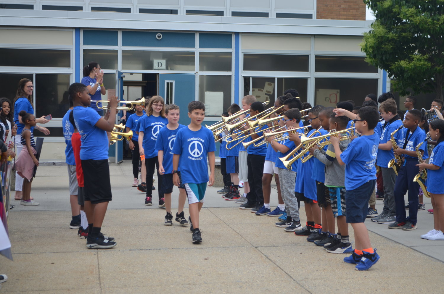 And they're off to a global contest — The Baldwin School District hosted a send-off celebration June 5 before a group of Meadow Elementary School students embarked on a trip to the international competition of the Future Problem Solving Bowl in Massachusetts. The team took second place.