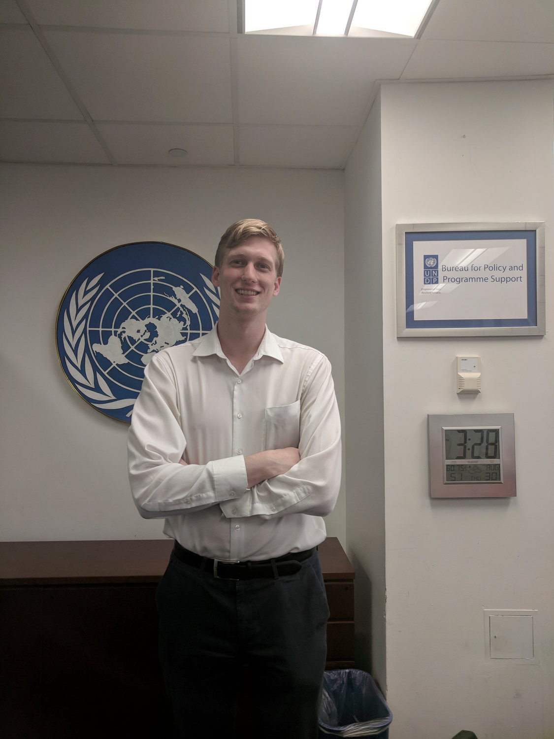 Baldwin native Timothy Koch will leave this week to serve with the Peace Corps in Ethiopia.