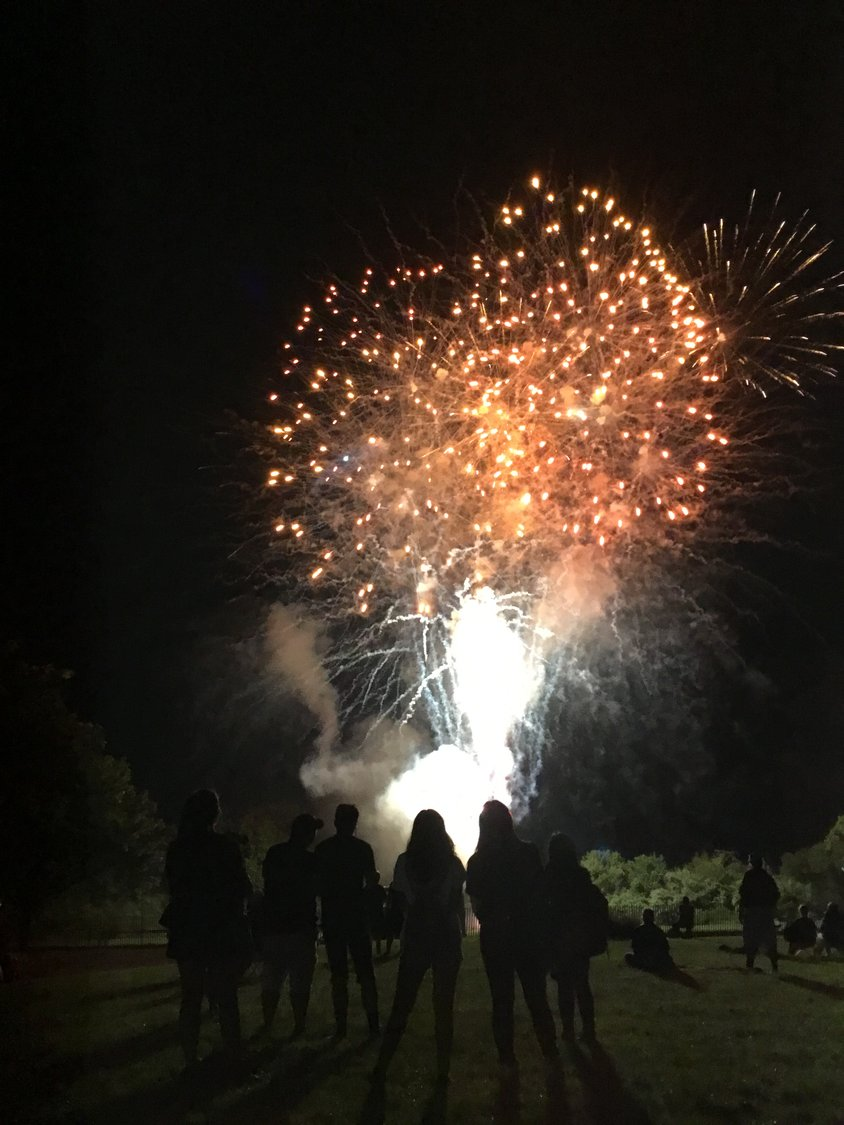 The fireworks show will return on Aug. 3 for Baldwin Day, the Chamber of Commerce's annual celebration.