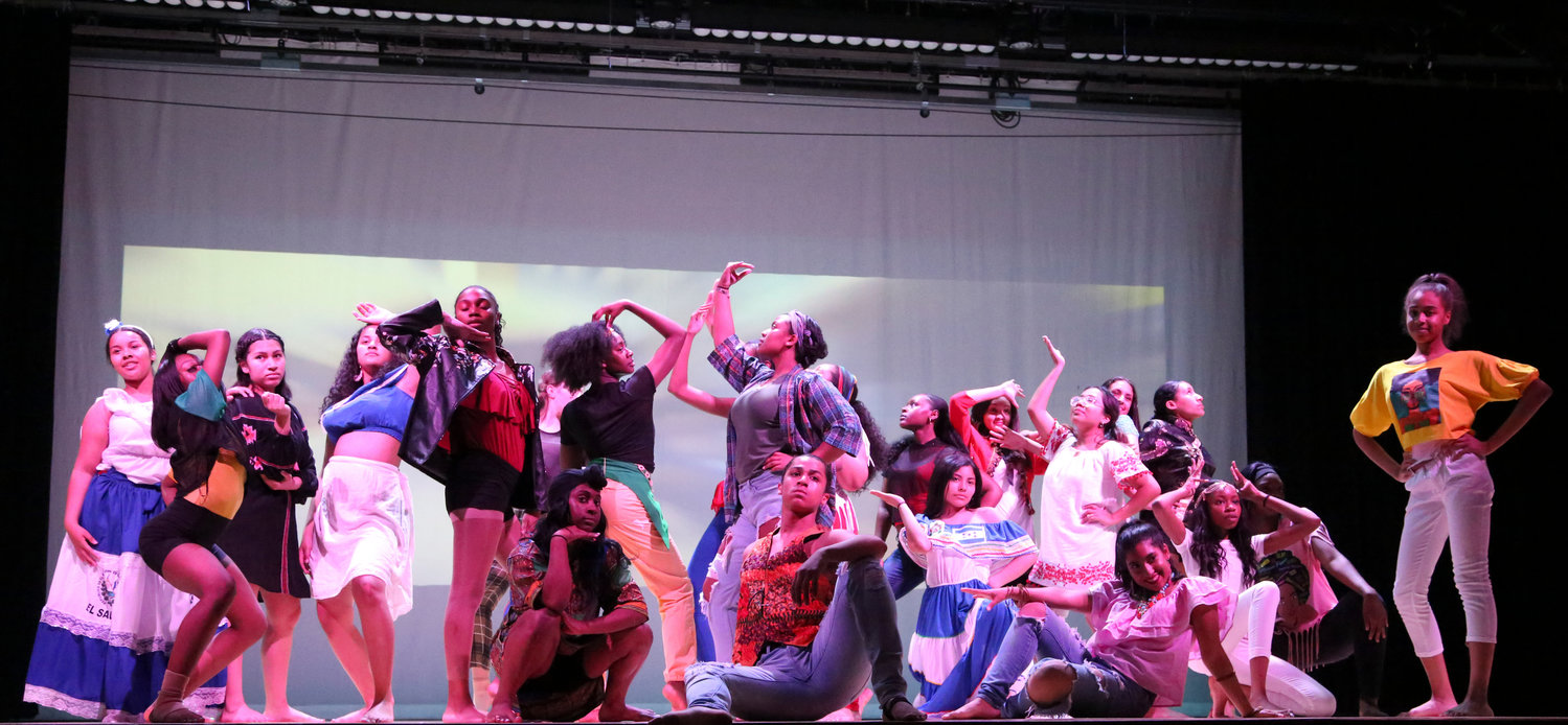 "The Block Party dance performed by Lawrence School District students and choreographed by Janora Blackman at the ""United Dance of America"" performance in May 30."