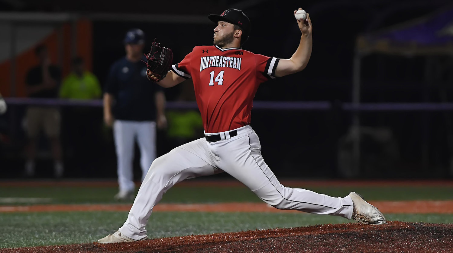 Andrew Misiaszek leaves Northeastern as the program's leader in career saves, with 30.