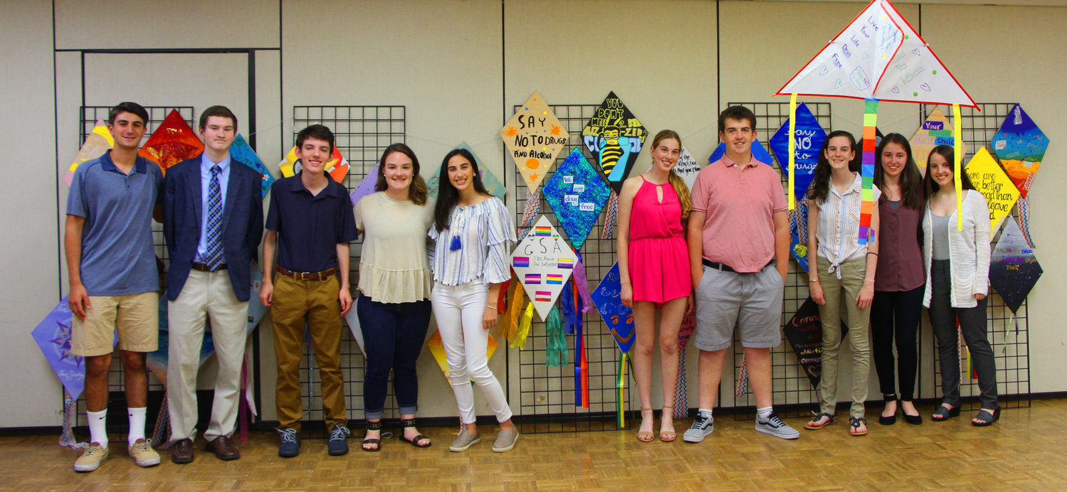 Members of the Rockville Centre Youth Council attended Fly Above the Influence on June 14.