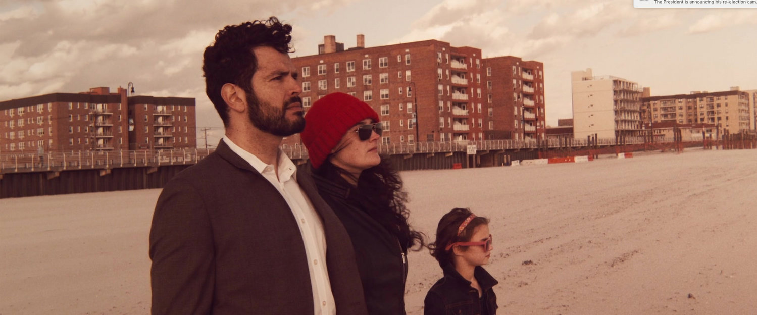 Chris Mollica, Rosenthal, and Eleanor shot a scene at the Long Beach boardwalk.