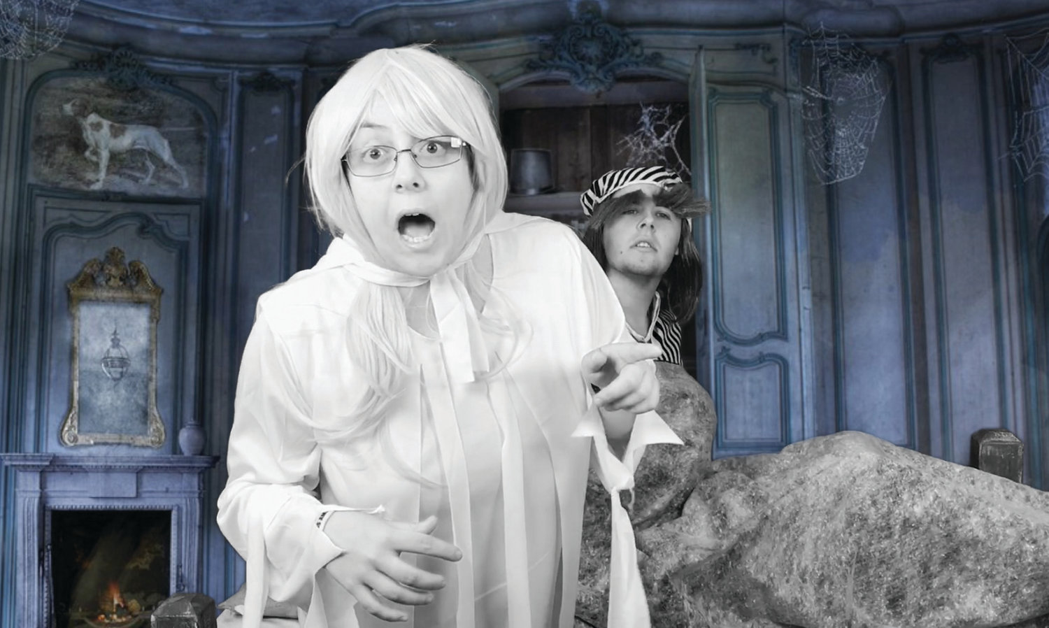 """A Christmas Carol"" was the first film put together by the special-education film club. With clever editing, a green screen and a costume, Arianna was transformed into the Ghost of Christmas Past."