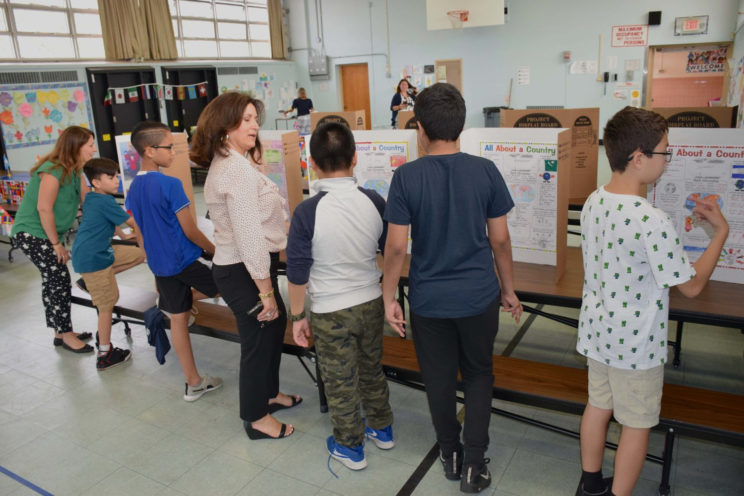 ENL students at Barnum Woods Elementary School celebrated its first Family Heritage and Culture Museum on June 5.