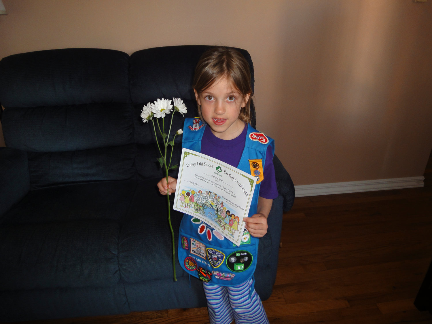 Kollar has been part of the Girl Scout movement since she was a Daisy in kindergarten.