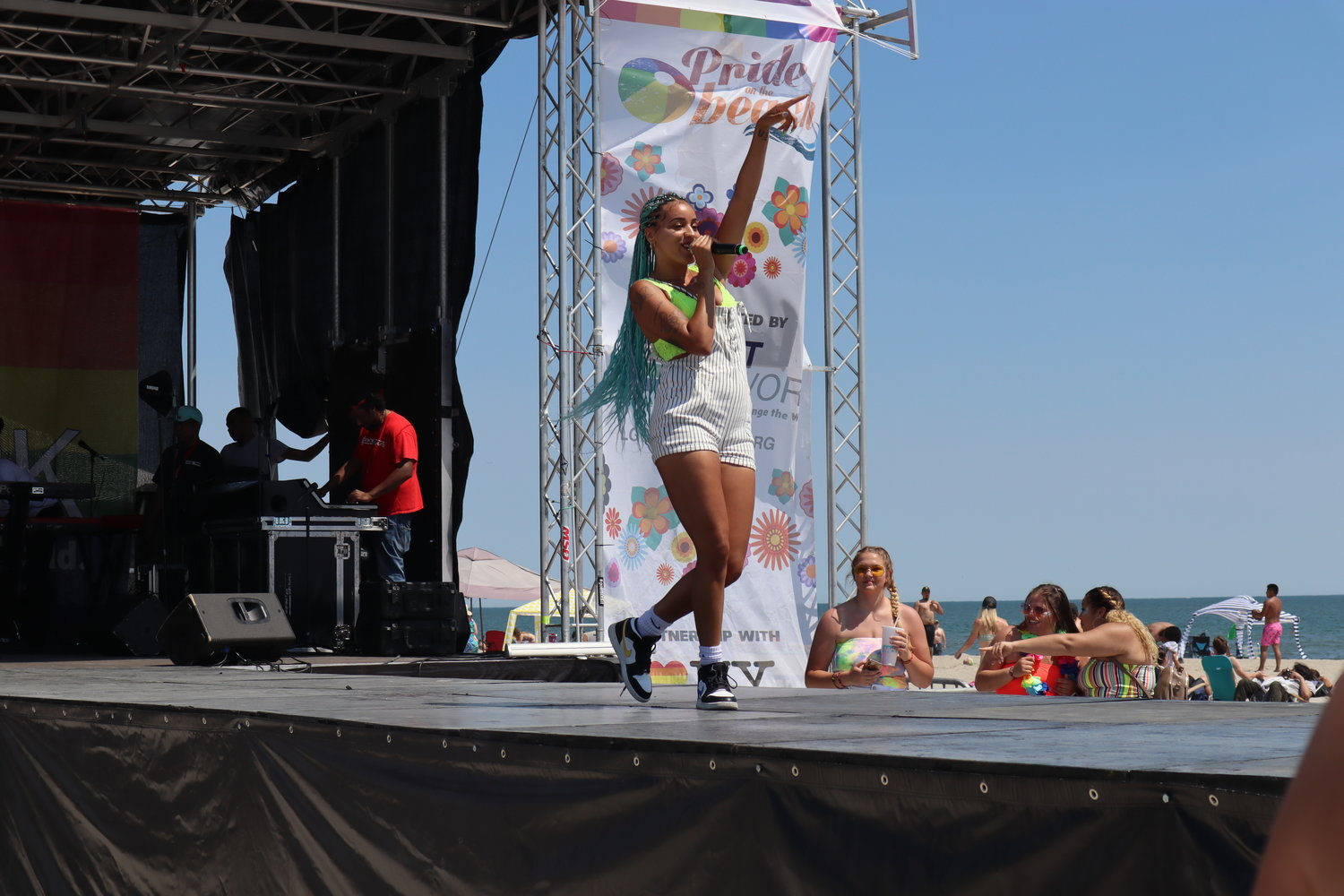 Kayla Rae kicked off the Concert on the Beach.