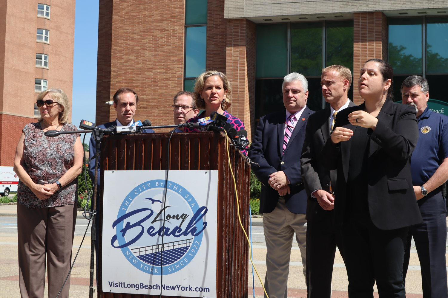 Nassau County Executive Laura Curran, announced the lift of the boil-water alert on June 24.