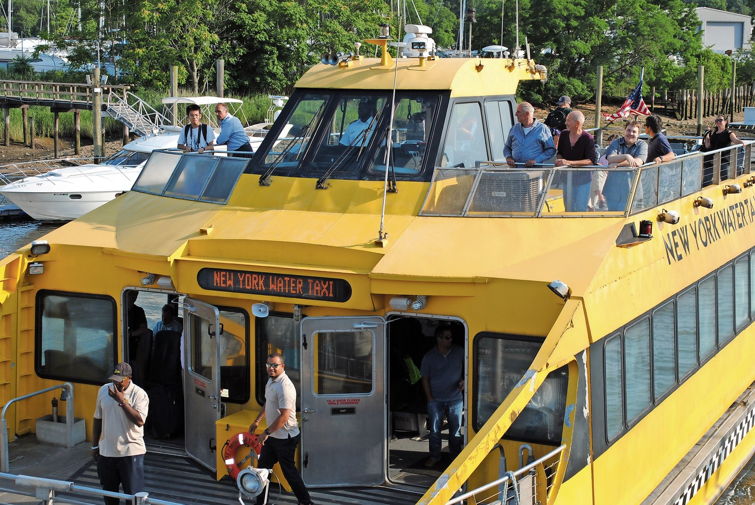 Passengers may be able to board ferries from Glen Cove to the Bronx this fall.