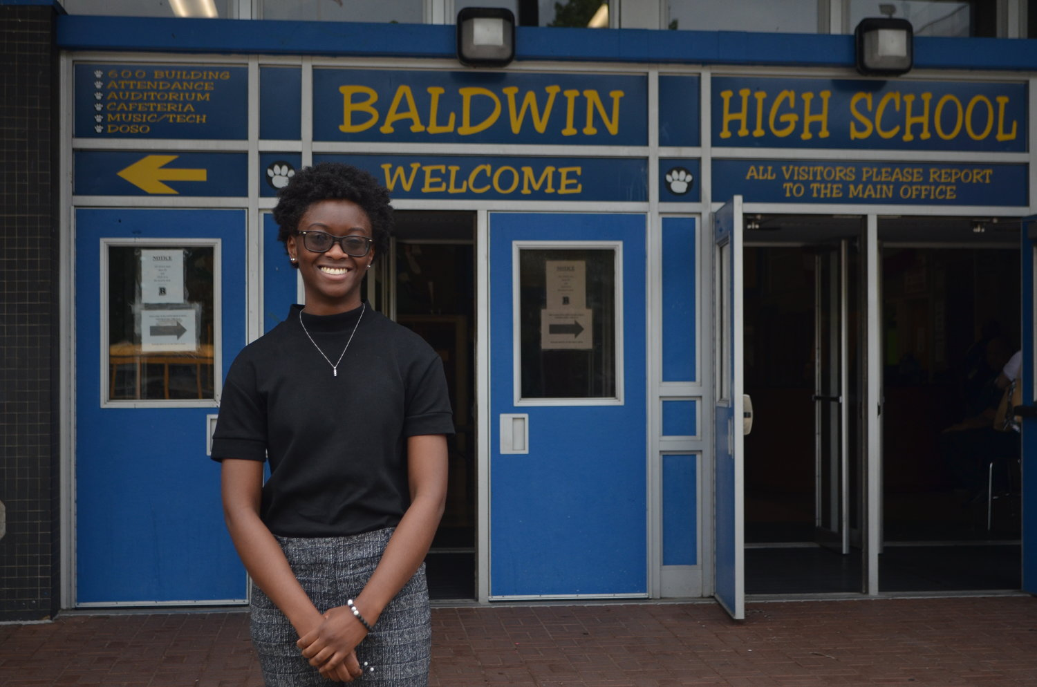 Nijha Young, Baldwin High School's valedictorian, will attend Ithaca College in the fall.