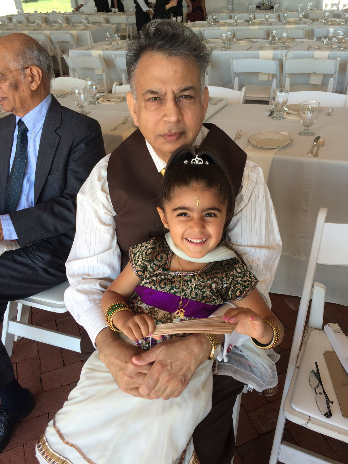 Diya raised $800 to support the American Diabetes Association in honor of her grandfather, Bhagwan Sakhrani.