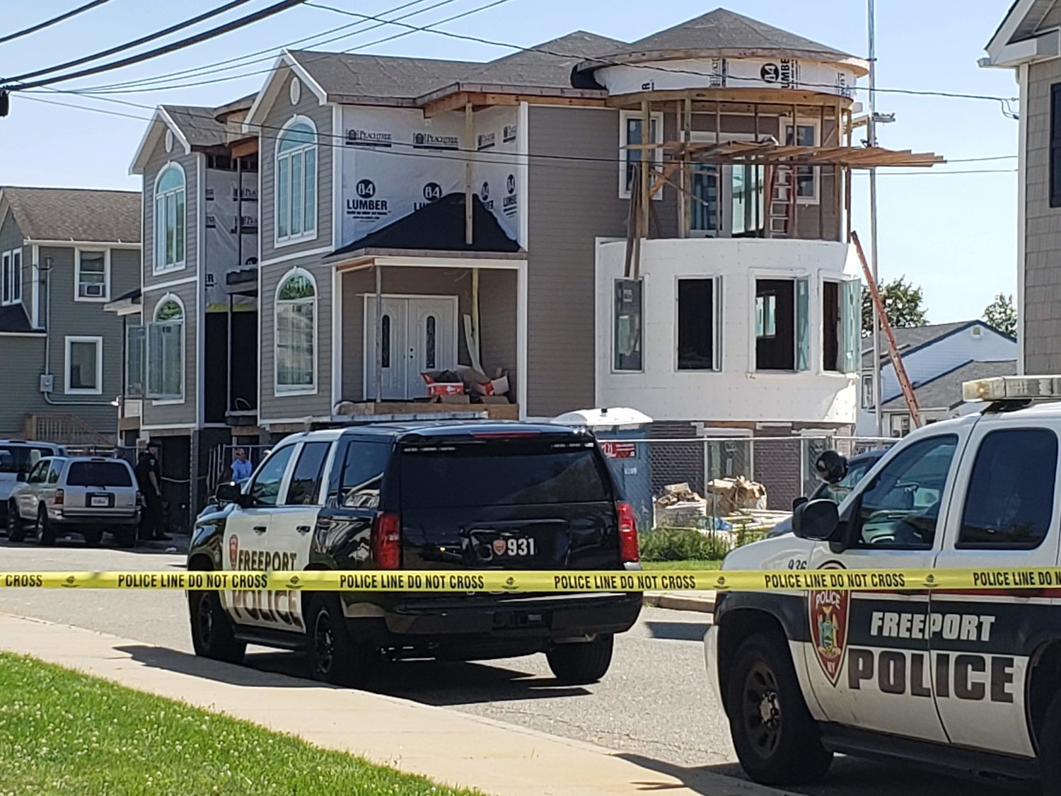 A construction accident on July 1 on South Bayview Avenue in Freeport caused the death of a 17-year-old construction worker and left one man injured.