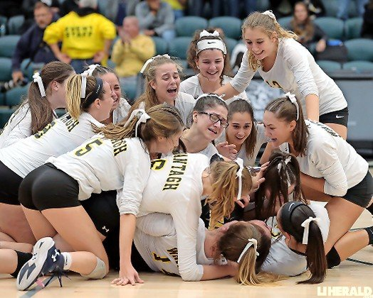 Wantagh enjoyed an incredible ride to the Nassau, Long Island and New York State Class A girls' volleyball crowns.
