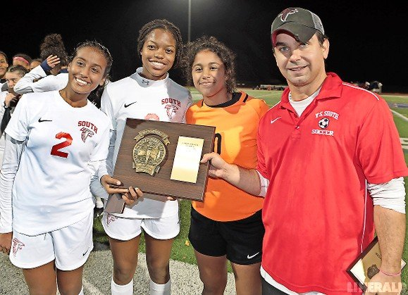 Valley Stream South's girls soccer team won the Nassau County Class A title as the No. 18 seed and went on to capture the Long Island and state crowns.