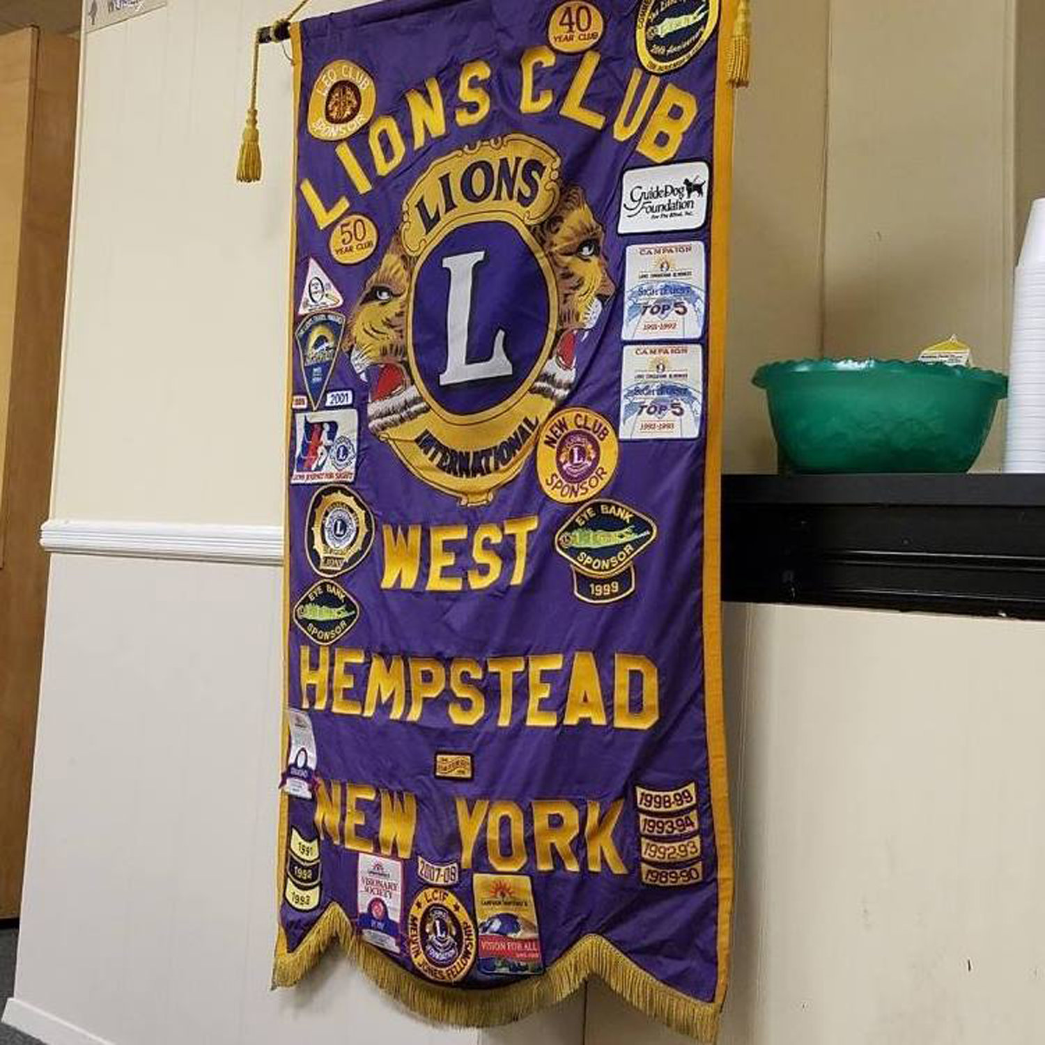 The Lions Club takes part in several events in the community throughout the year.