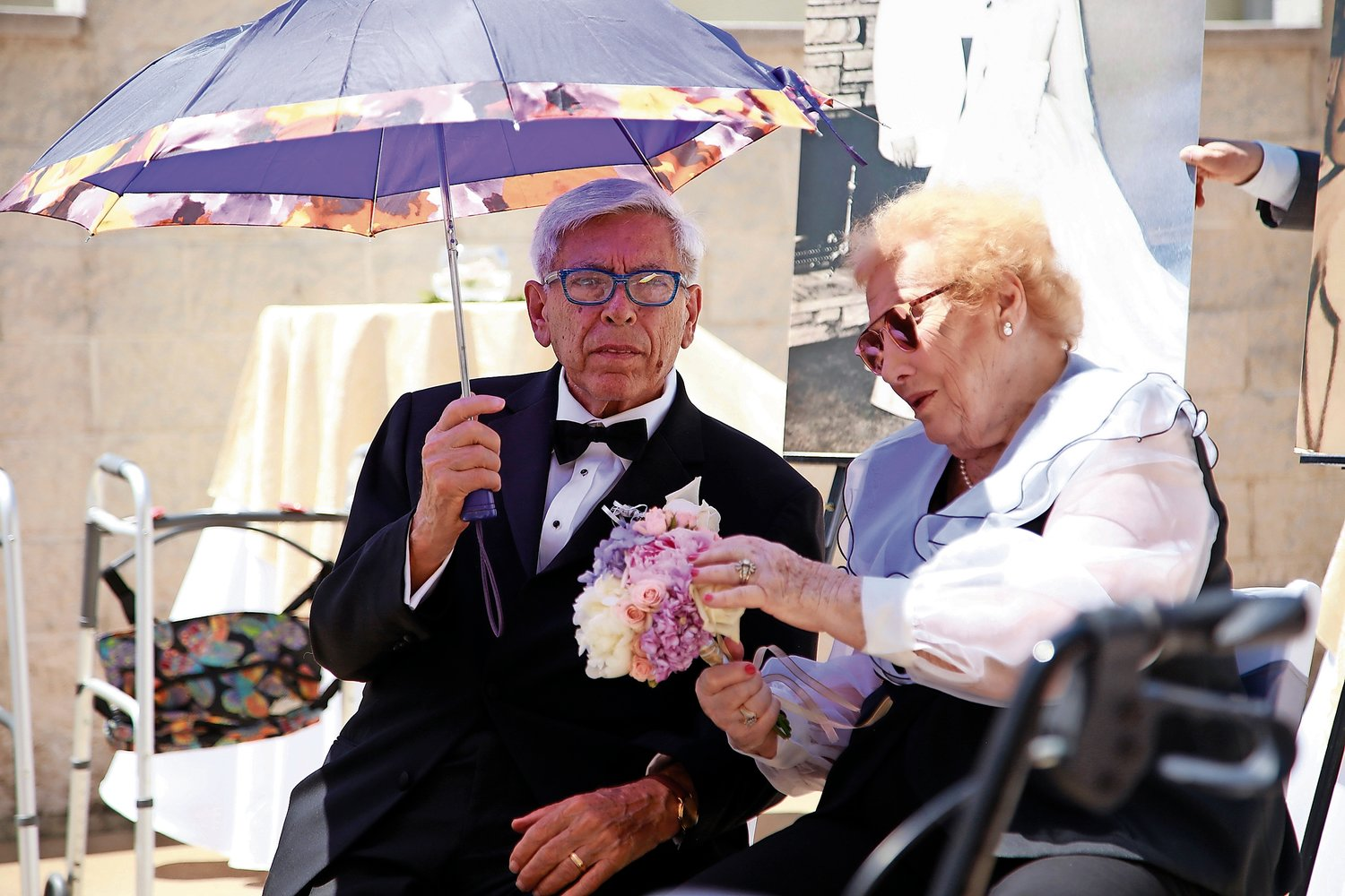 Philip and Margaret Falzone celebrated 63 years of wedded bliss during a vow renewal ceremony at the Bristal Assisted Living facility on June 26.