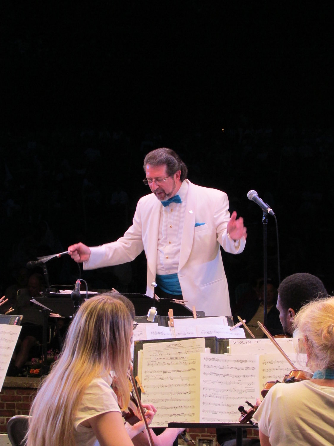 The Nassau Pops performs in Lynbrook on Friday as part of its summer concert season in local parks.