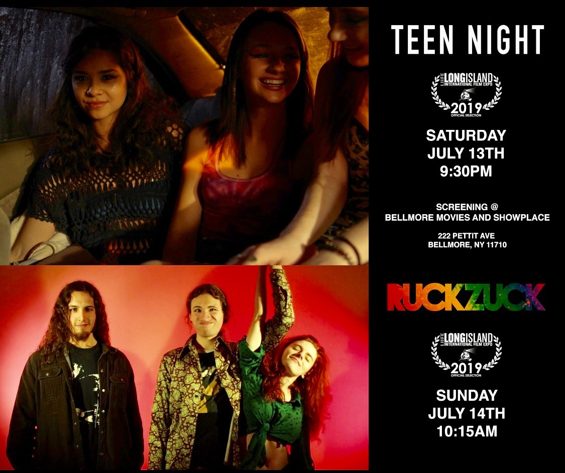 "Jacqueline Xerri, 22, will screen two films at the Expo, ""Teen Night"" on July 13 at 9:30 p.m., and ""Ruckzuck"" on July 14 at 10:15 a.m."